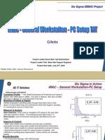 Gillette Six Sigma Case Study