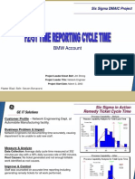 Time Reporting Cycle Time Six Sigma Case Study