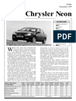 Chrysler Neon Dec99