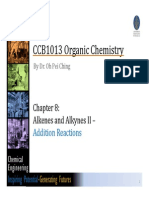 6) Chapter 8 Alkenes and Alkynes II