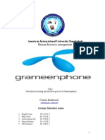 69634126 Recruiting and Selection Process of Grameenphone