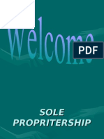 Sole Propritership