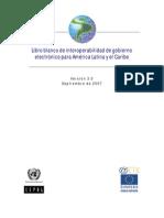 Libro Blanco de Interoperabilidad de Gobierno Electrnico Para Amrica Latina y El Caribe