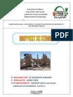 Rapport Tunisi
