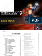 Anime Studio Pro 9 Tutorial Manual