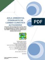 CAMBIO CLIMÁTICO ALTOANDINO