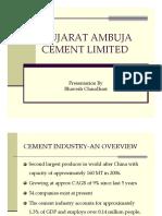 A case study on Ambuja Cement