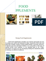 On Food Supplements