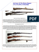 The Finnish Issue of the Mosin Nagant Model 91-30 (1891-1930) Rifle