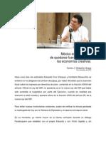 Mexico Fuera de Flujo de Las Economias Creativas 01-11-2013