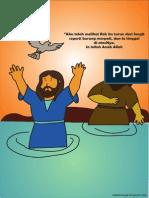 Gambar Yohanes Membaptis Yesus