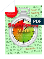 Super Speed Math