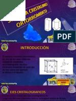 Sistema Ortorrombico