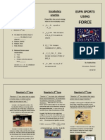 brochure for physics