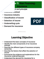 UUM-BWRR3033-Risk Management-CHAPTER 07 Insurance