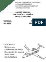 Aire acondicionado en aviones Presentación