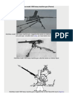 Hotchkiss Model 1930 Heavy Machine Gun (France)