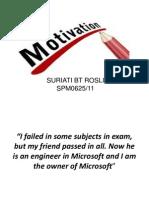 My Motivation 111213