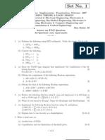r059210203 Switching Theory Logic Design