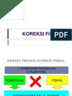 KOREKSI FISKAL