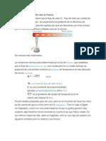 Ley de la conducción del calor de Fourier.docx