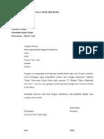 Contoh Surat Permohonan Surat Masih Aktif Kuliah