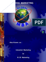 Dimensions of Industrial Marketing