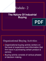 The Nature of Industrial Buying