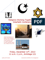 Rutgers Interfaith Conference