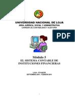 Modulo5 El Sistema Contable de Instituciones Financierasx