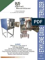 ETO Sterilizer (Hospital)
