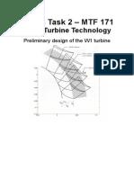 LabbPM2(Preliminary Design of the W1 Turbine)