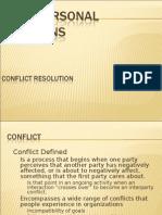 Conflict Rsolution