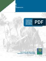 Propuesta para la creación de un sistema nacional de Desarrollo Rural