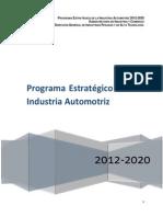 Programa Estrategico SE 2012