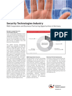 Fact Sheet - Security Technology Industry