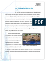 profile essay-portfolio submittal