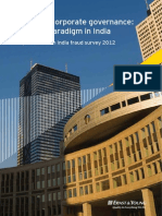 Fraud and Corporate Governance Changing Paradigm in India