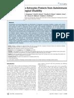 Astrocyte and Autoimmune Disease