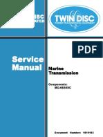 Mg6650sc Twin Disc
