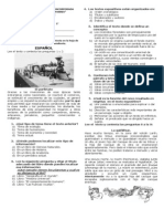 SEGUNDA evaluación bimestral 5to 2013