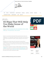 40 Maps That Will Help