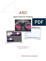 Apple Remote Desktop Directions by Jeff Althoff