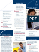 Academic Integrity Brochure