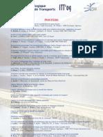 Poster INNOVATION TECHNOLOGIQUE ET SYSTEMES DE TRANSPORT