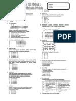 Latihan Soal Materi Genetik Dan Sintesis Protein