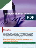 HR Discipline