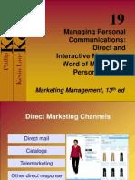 P.selling- Diredct Marketing