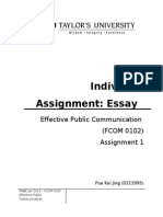 Individual Assignment EPC