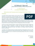 ipad policy  user agreement